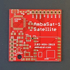 AmbaSat-1 Satellite – Main Board (PCB)