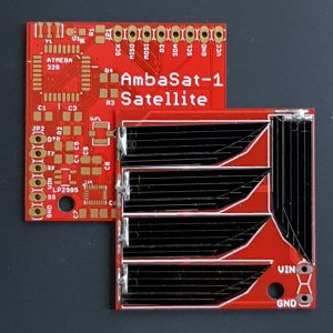 AmbaSat-1 Satellite Kit – Solar Power