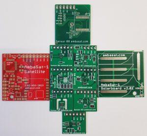 Backer Update – AmbaSat-1 Parts & Shipping