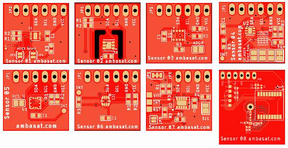 AmbaSat-1 Sensor Designs – GitHub