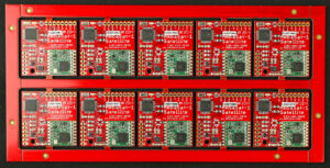 First AmbaSat-1 ASSEMBLED Satellite Boards