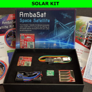 2. AmbaSat-1 Satellite – SOLAR KIT