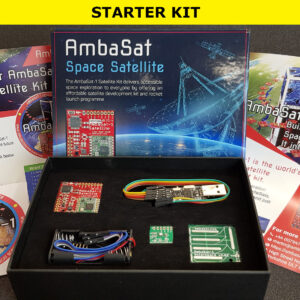 1. AmbaSat-1 Satellite – STARTER KIT