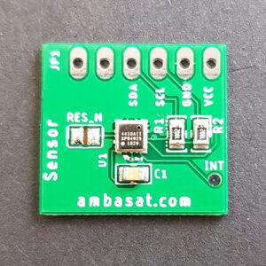 AmbaSat-1 Sensors