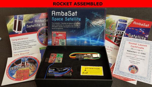 AmbaSat-1-box-contents-ROCKET-ASSEMBLED