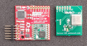 First prototype GPS Sensor 08 assembled boards received