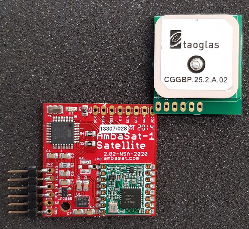 AmbaSat-1 GPS